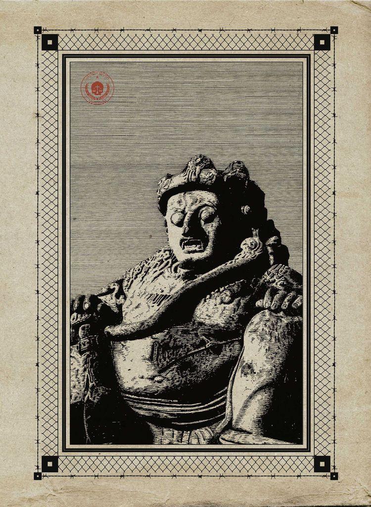 Arca Dwarapala Statue - illustruth | ello
