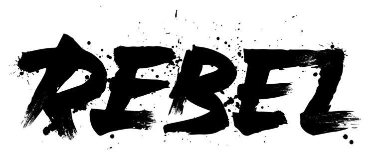 Rebel - Vector, Brush, Ink - robclarketype | ello