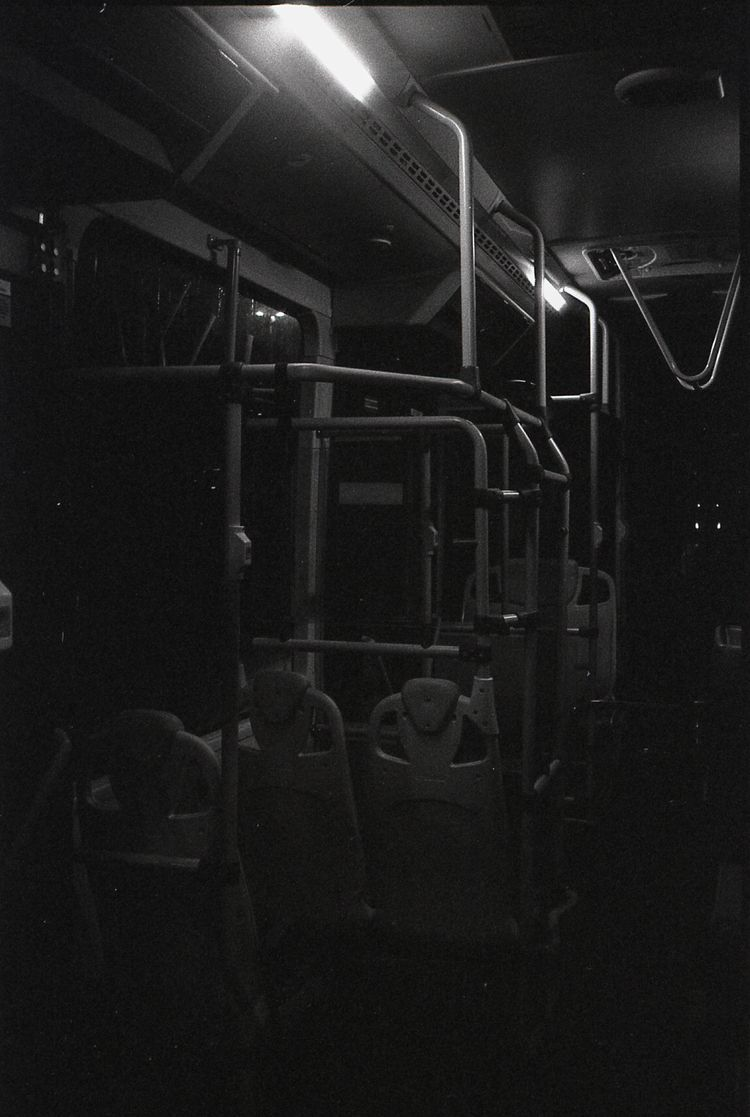 Night City Life - 35mm, bw, film - 35seco | ello