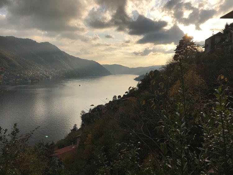 returned months Lake Como, Ital - chrispk85   ello