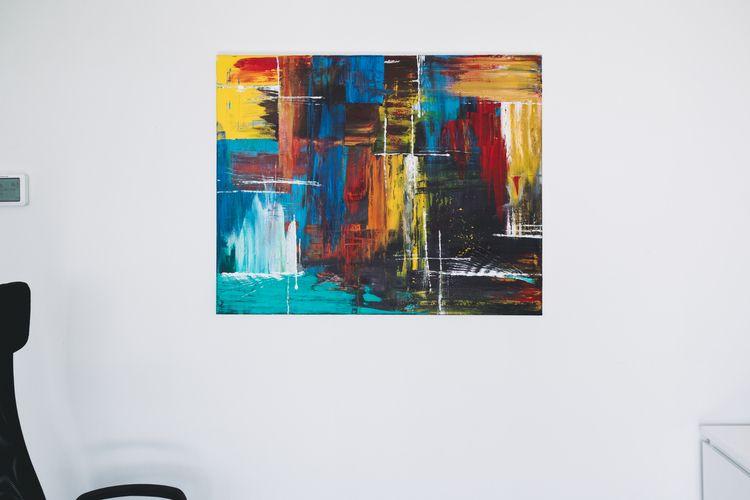 Abstract Colors. Acrylic Canvas - namzo | ello
