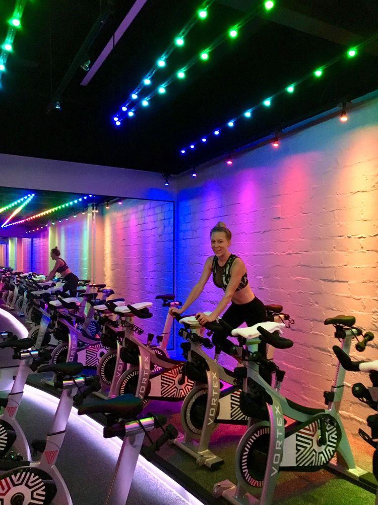High Intensity Bicycle Workout  - vortextexas   ello