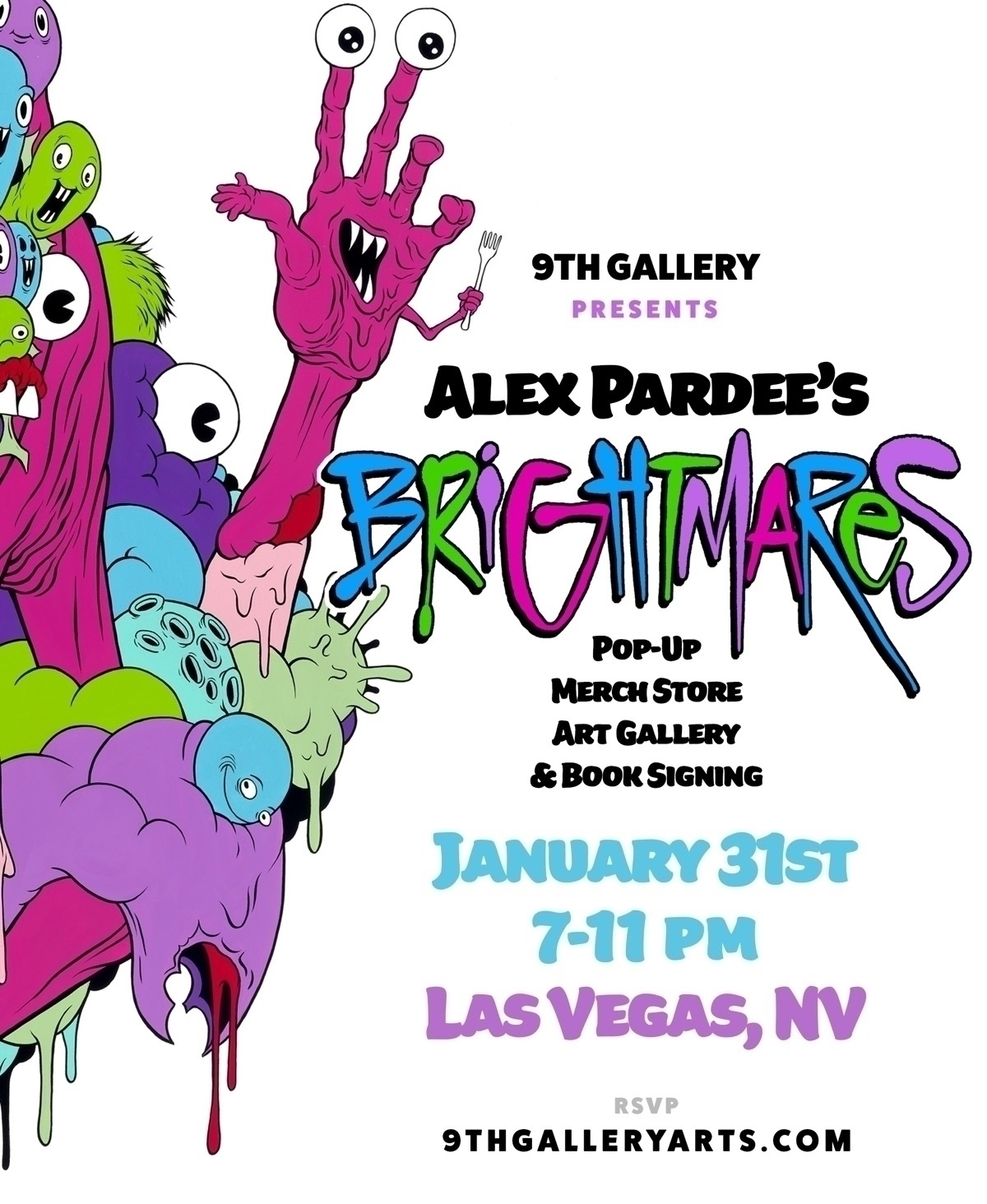 ALEX PARDEE Friday January 31st - 9thgallery | ello