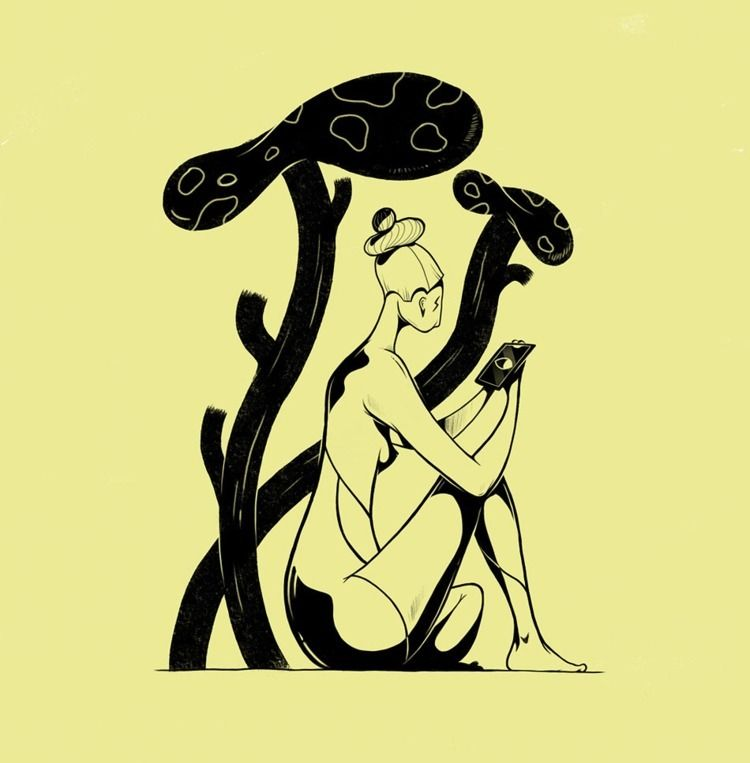 Mirrors - illustration - paykhan | ello