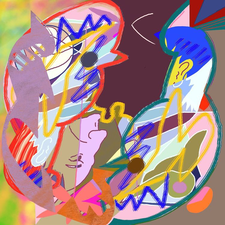 Brain Picker 2019, digital pain - tonyvandenboomen | ello