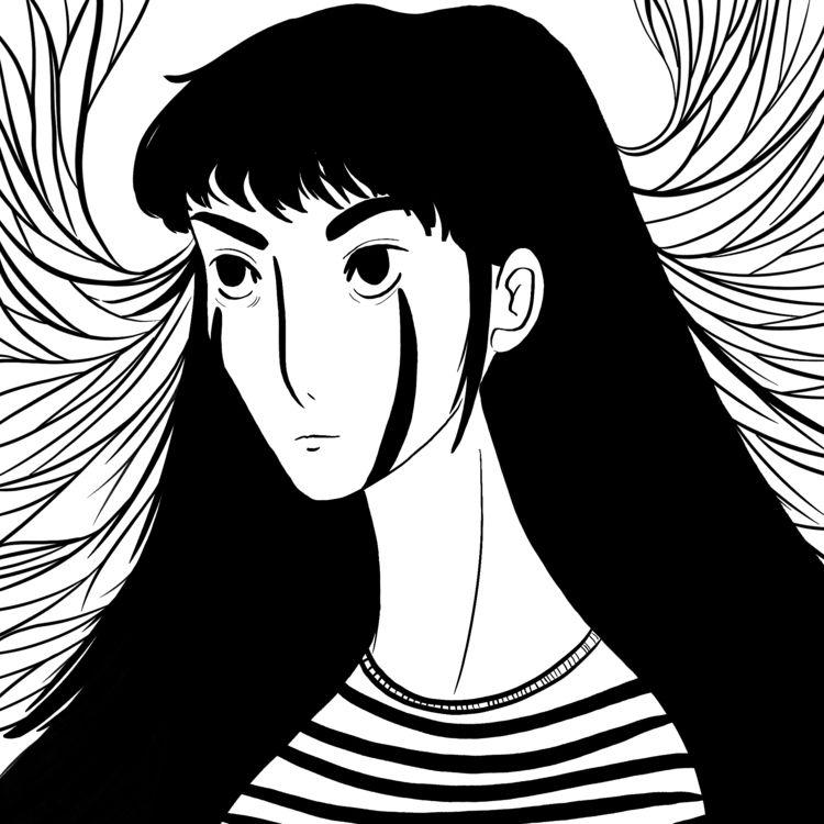 profile pic - girl, woman, female - wildflower86 | ello
