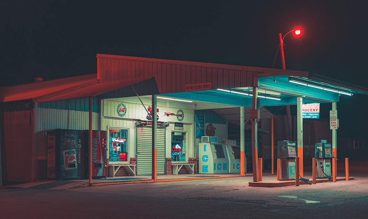 Country Gas Station, 2020, Grea - anthonypresley   ello