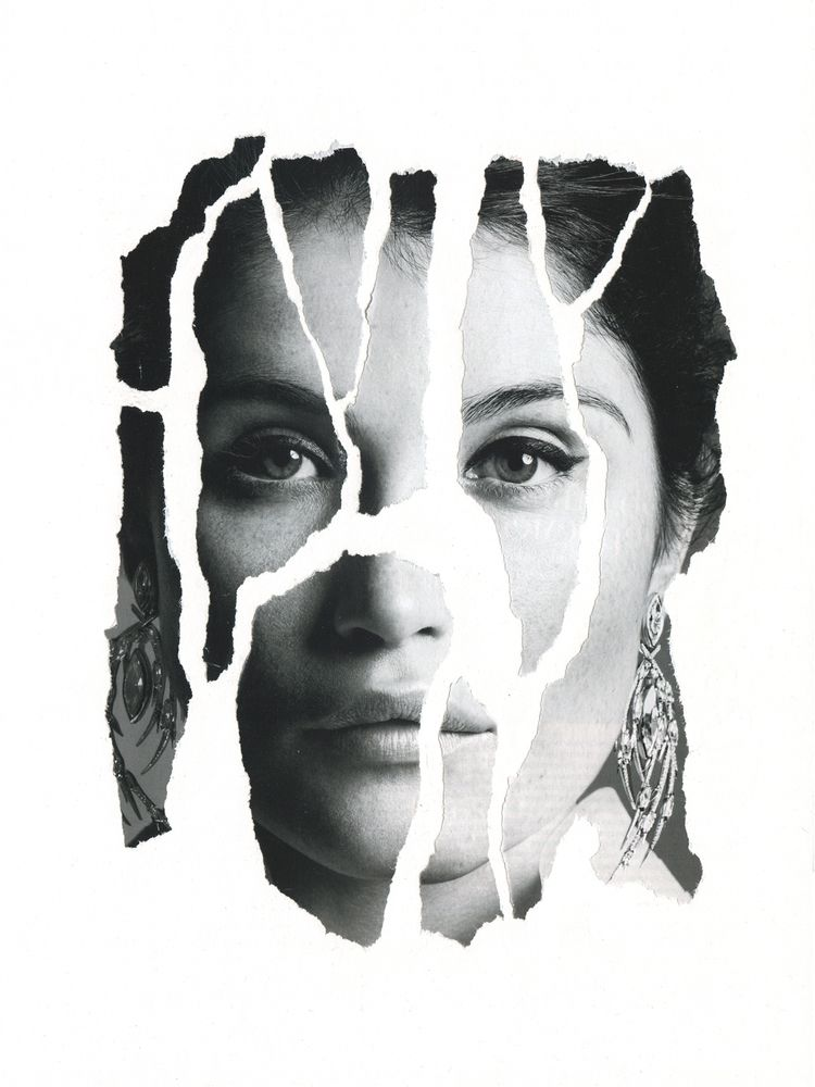 Untitled paper, collage, 29×42c - annakiartist | ello