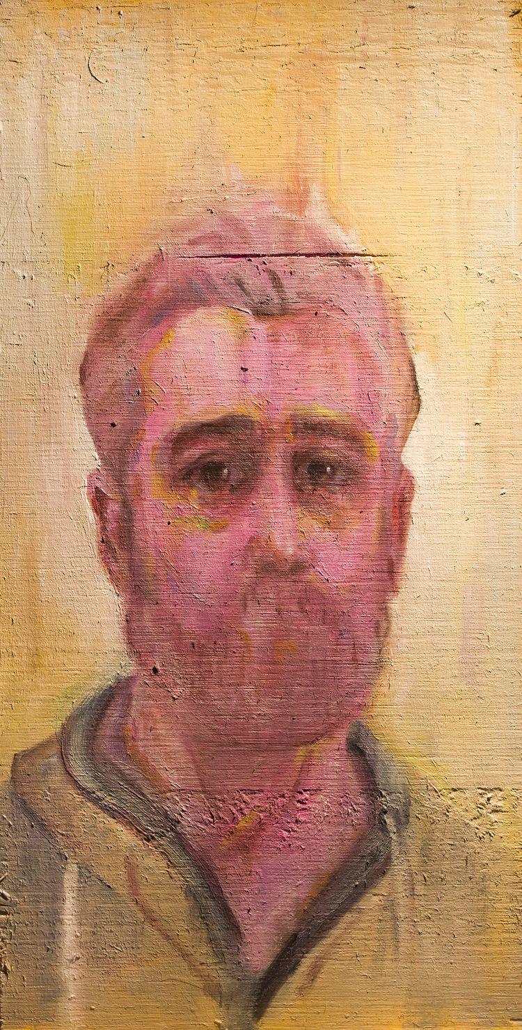 Dolour Portrait) / Oil Wood 10  - armandocabba | ello