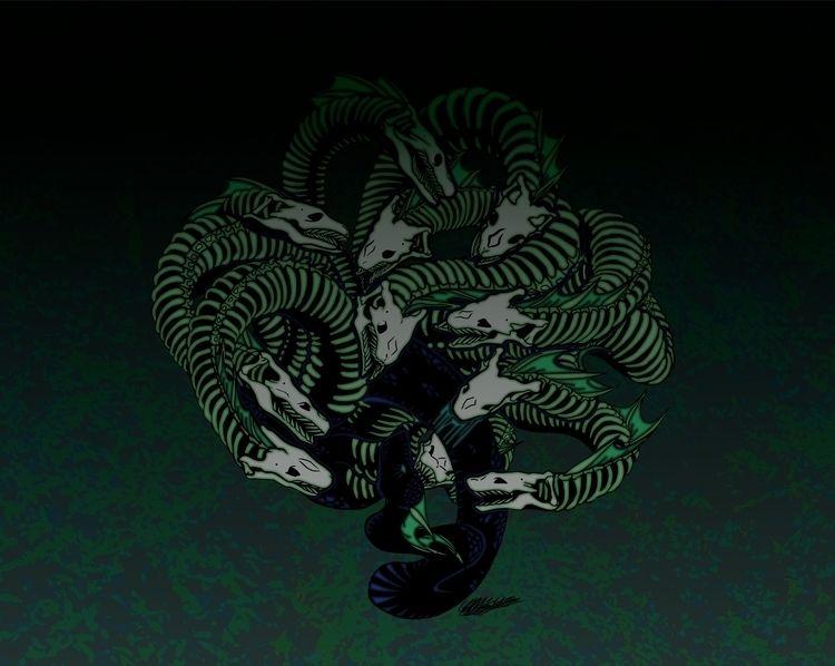 Lonely Hydra Society6 Redbubble - spicyhoneyheart | ello