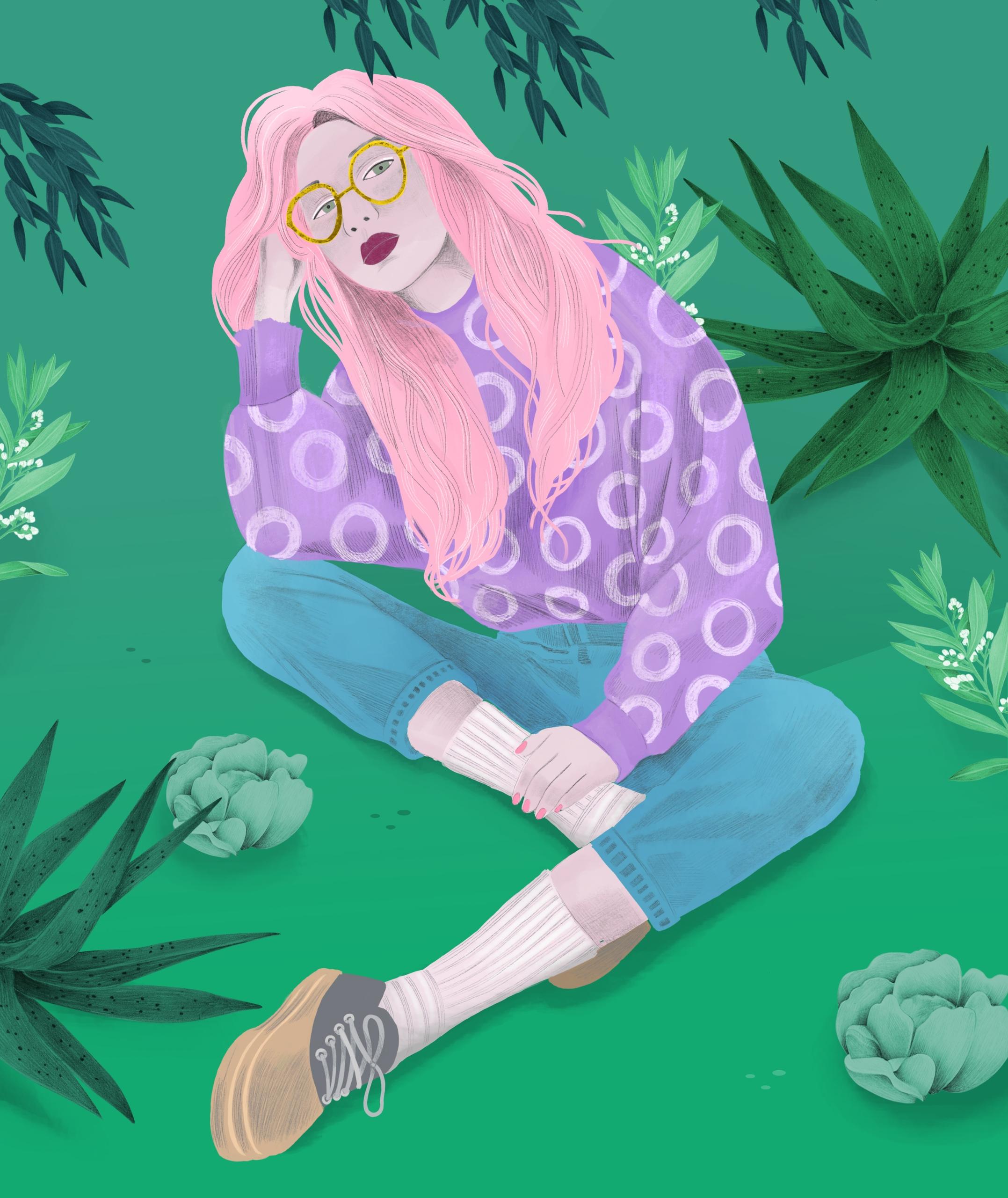 illustration, ipadpro, procreate - jutta-kivilompolo | ello