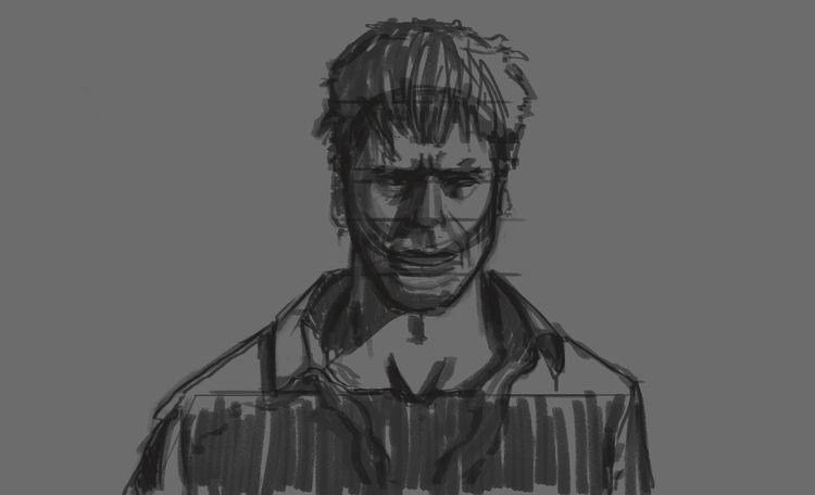 Character study sketch - illustrate - franconioi92 | ello