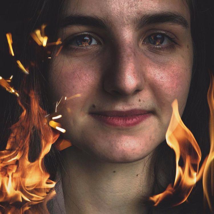 local girl fire:fire: Photo man - eve_nadin | ello