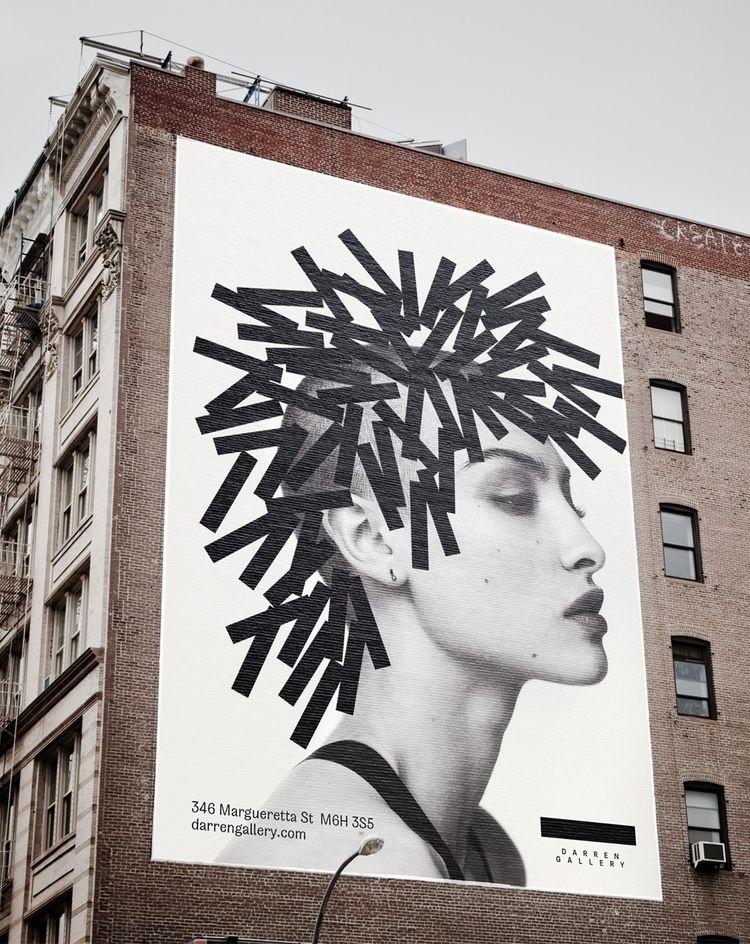 Darren Gallery Poster - graphicdesign - maksimarbuzov | ello