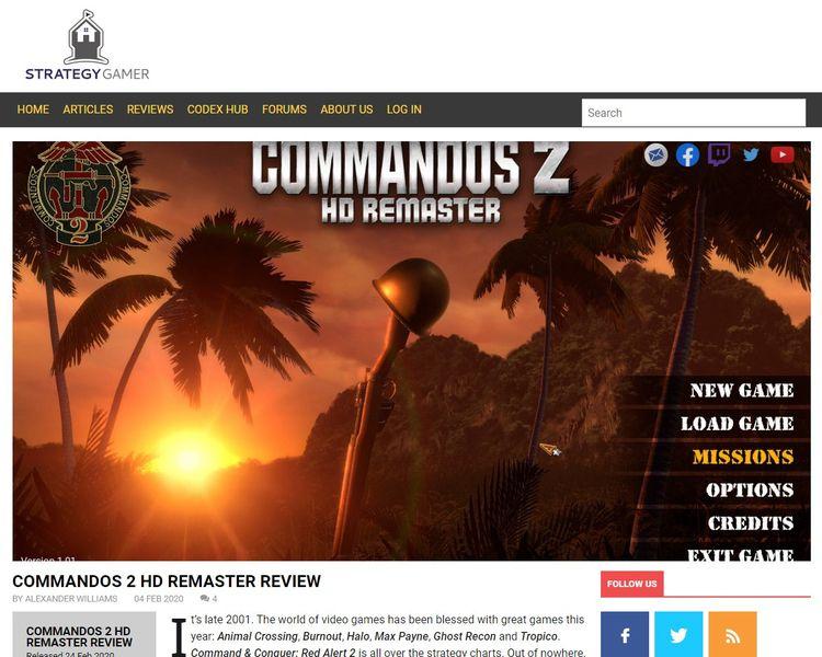 Commandos 2 HD Remaster review  - lextenebris   ello