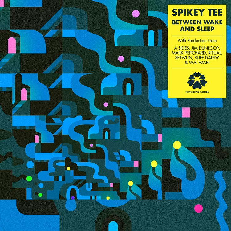 Spikey Tee - Wake Sleep artwork - mattlyonart   ello