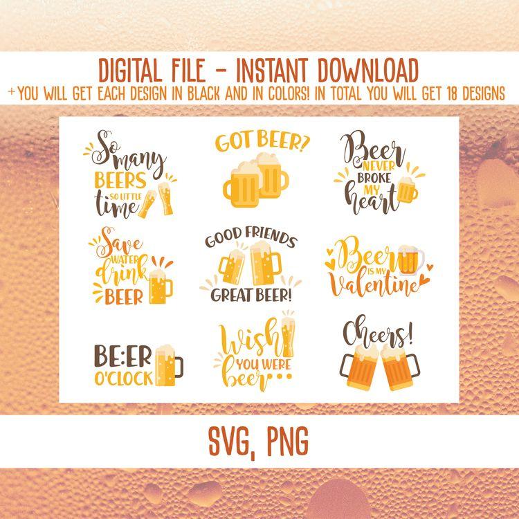 beer person? SVG bundle perfect - annijajansone | ello