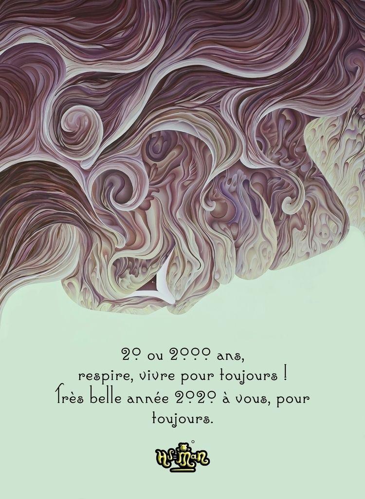 20 ou 2000 ans, respire, vivre  - hu-man | ello