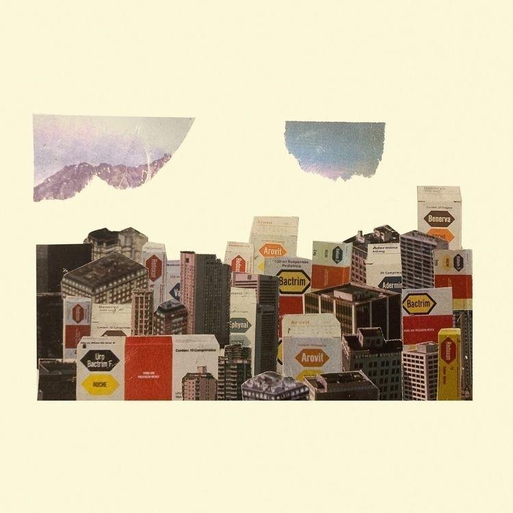 Day 4 | Box - collage, analogcollage - joaoito | ello