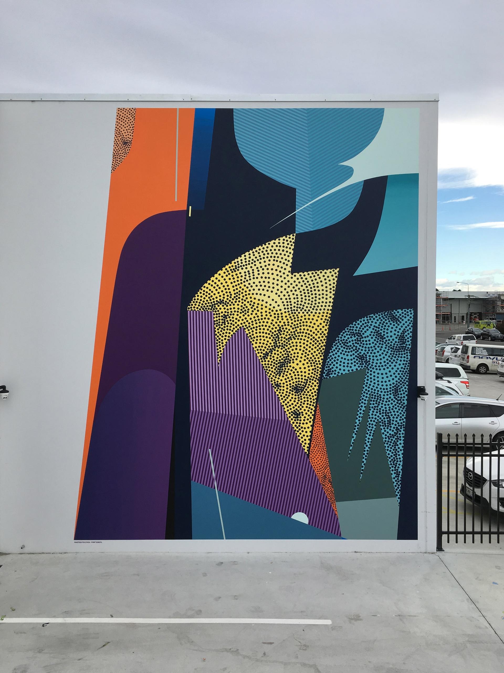Collaboaration mural Christchur - seikon87 | ello