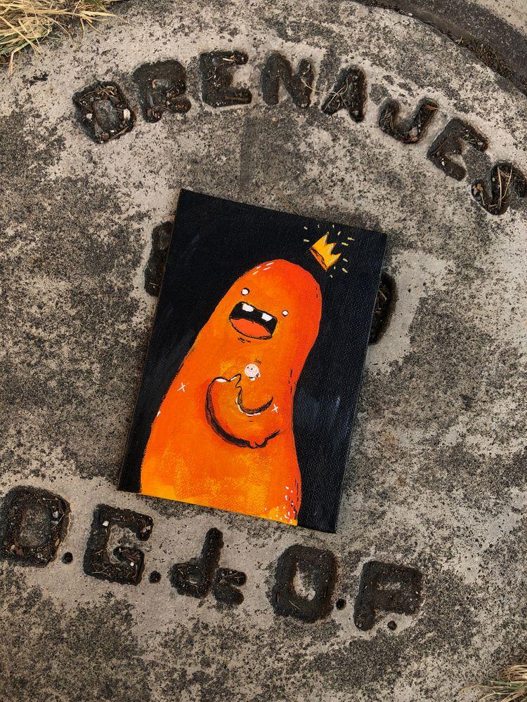 happy day paint - illustration, acrylic - hopeazul | ello