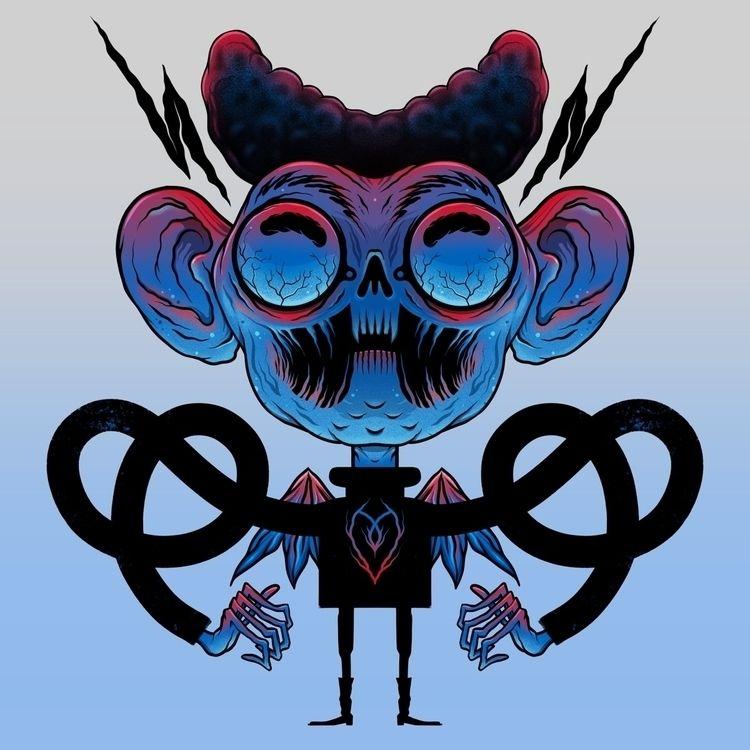illustration, characterdesign - olegmilshtein | ello