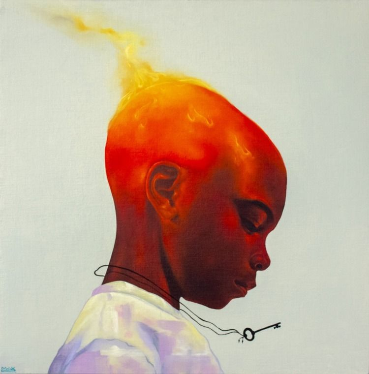 Max Sansing Fire Starter, 2018  - blackartmatters | ello