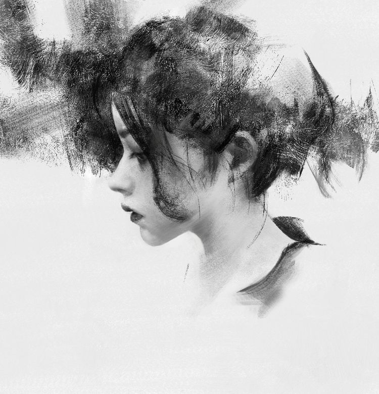 Watch real time painting proces - toko_suzuki | ello