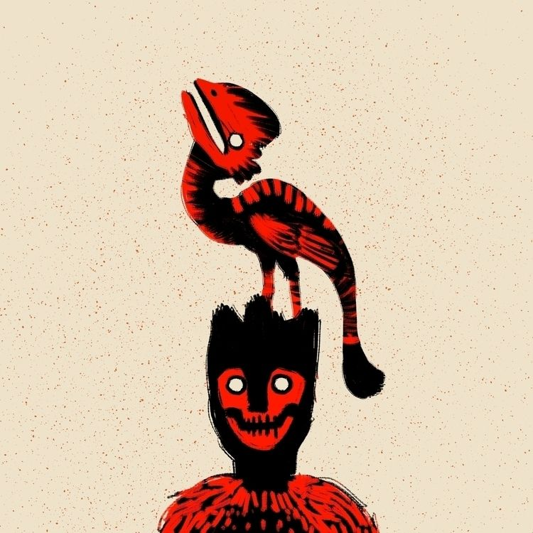 digital, illustration, warlock - morrowingsart | ello