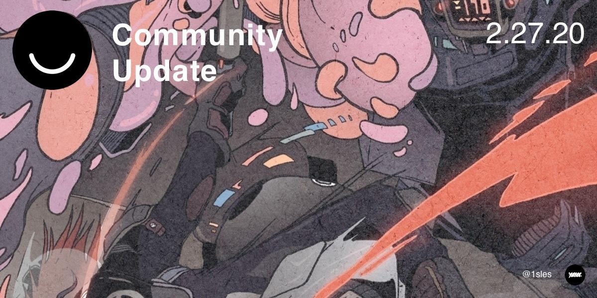 Community Update 2/27/2020 Ciao - elloblog   ello