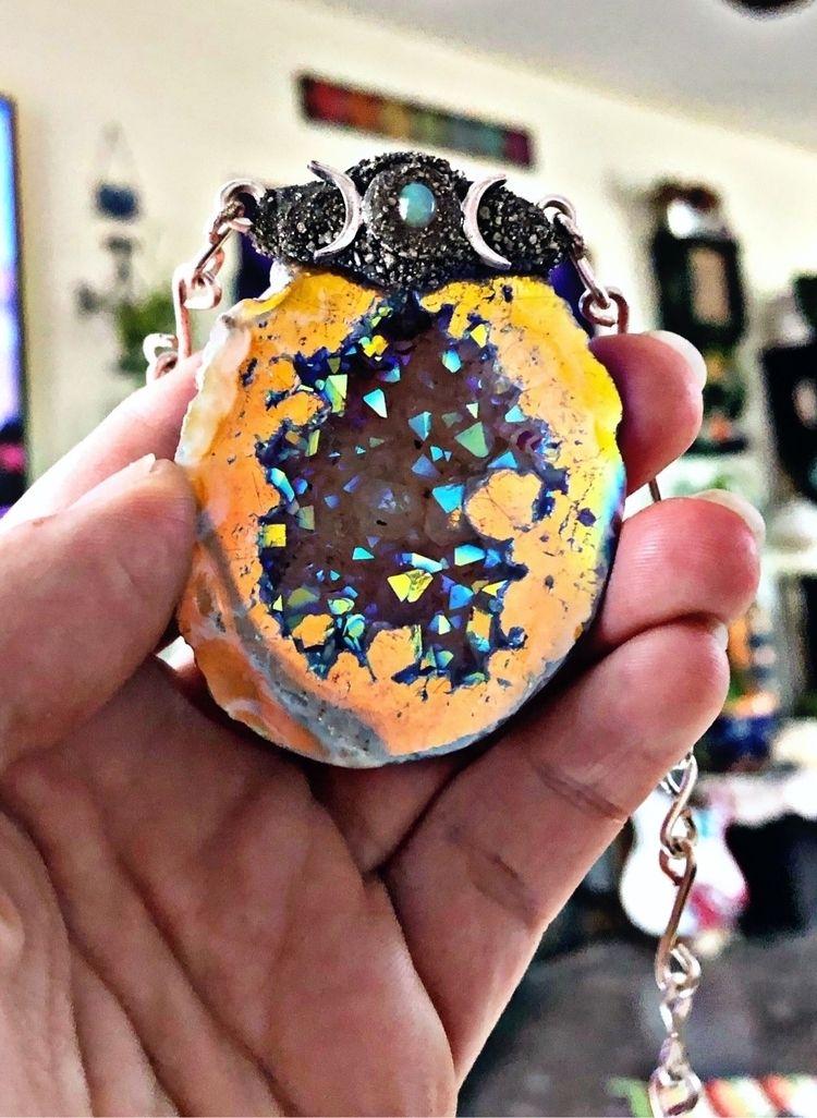 stunning Triple Moon necklace - crystals - gypsyhawaii | ello
