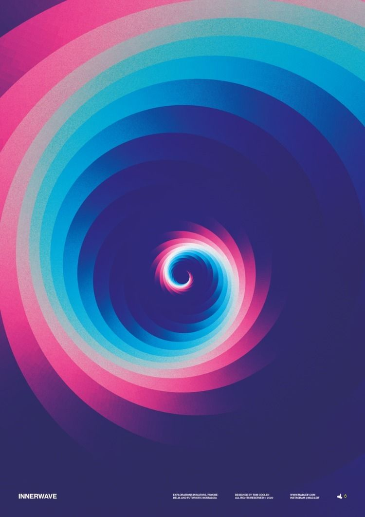 Innerwave  - poster, posterdesign - madleif   ello