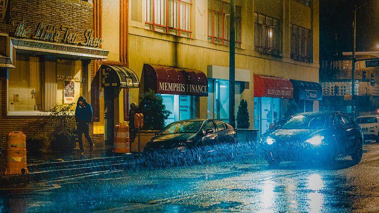 Rain, 2020, Memphis, Tennessee - anthonypresley   ello