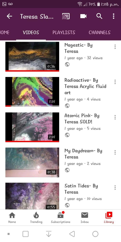 link playlist paintings YouTube - tslaterdesigns   ello