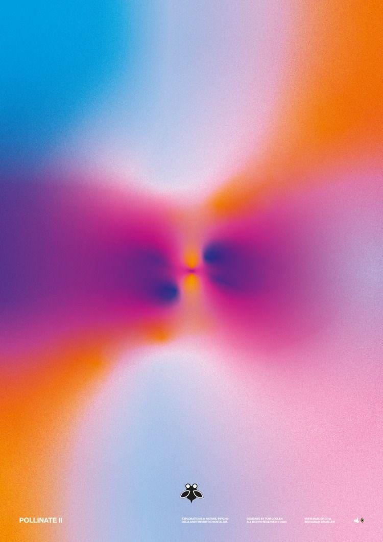 Pollinate II  - poster, posterdesign - madleif   ello