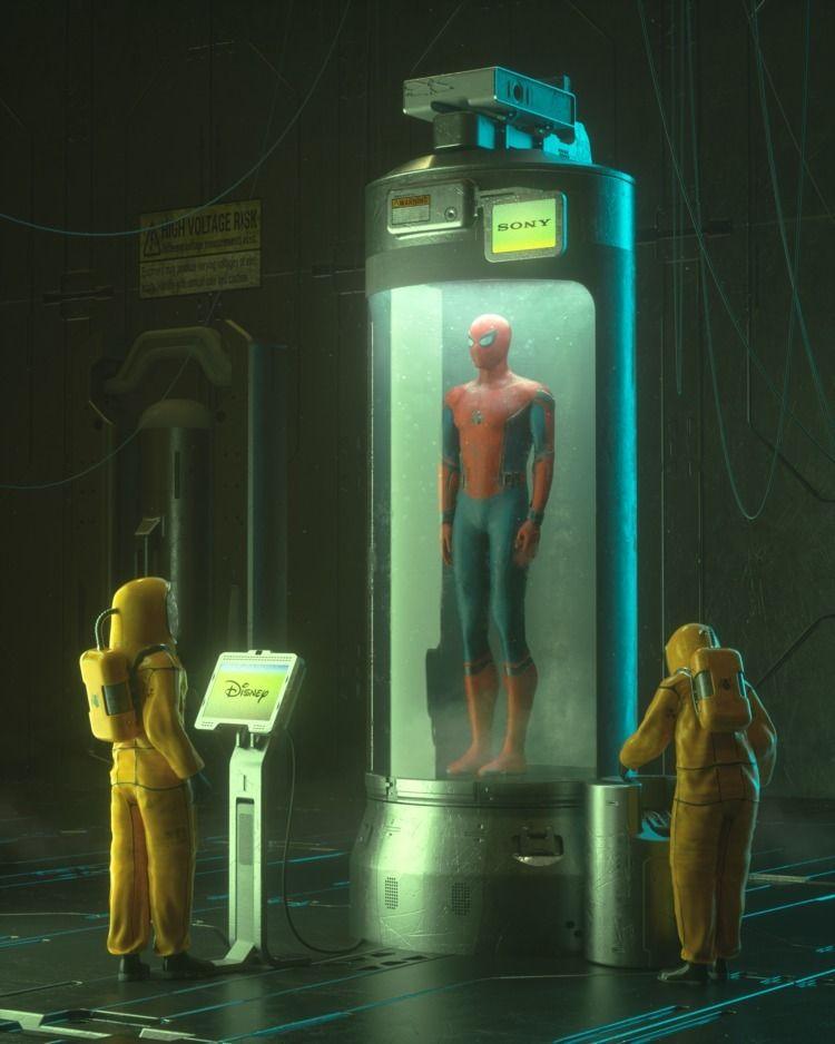 FREEDOM SPIDER-MAN  - cinema4d, c4d - liaam | ello