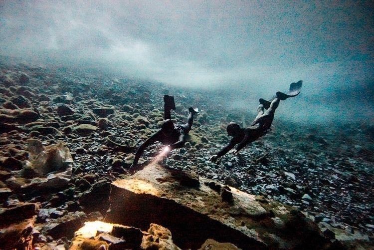 freediving, cave, water - julian__clarke   ello