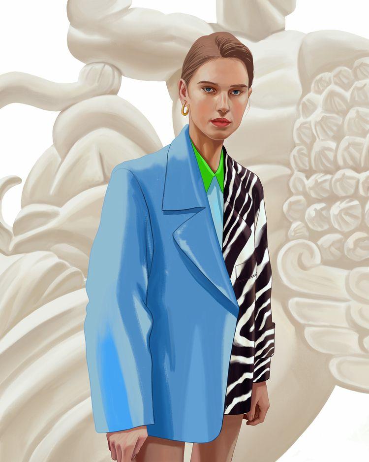 Gentlewoman - fashionillustration - eunjeongyoo | ello
