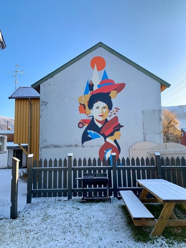 Sami street art, Artic Circle,  - the-wooks | ello