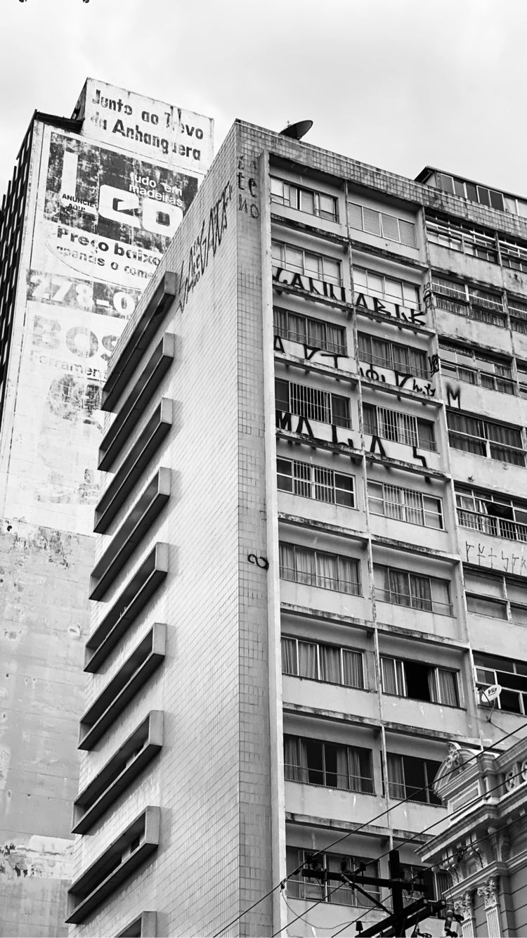 Grey scale - buildings, Campinas - lwalkings | ello