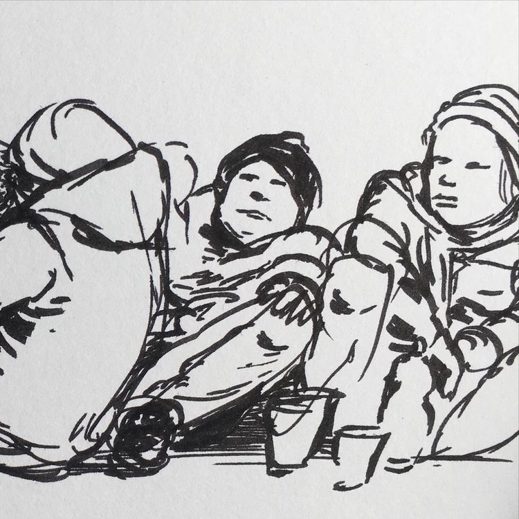 Homeless people - homeless, drawing - donorbrain   ello