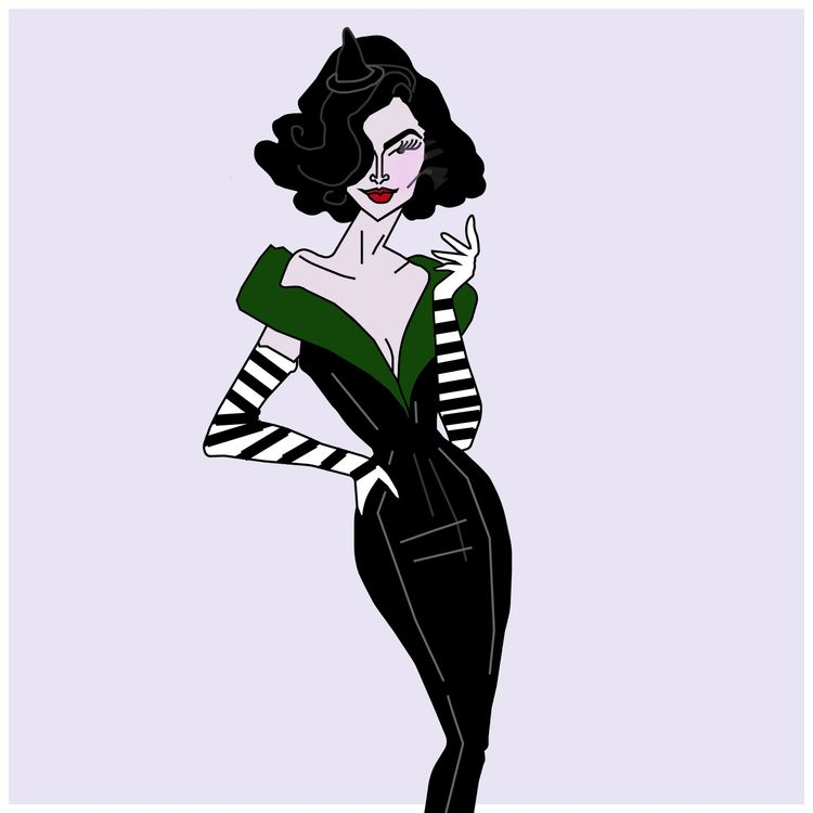 Modern Wicked Witch West Illust - gaylecasha | ello