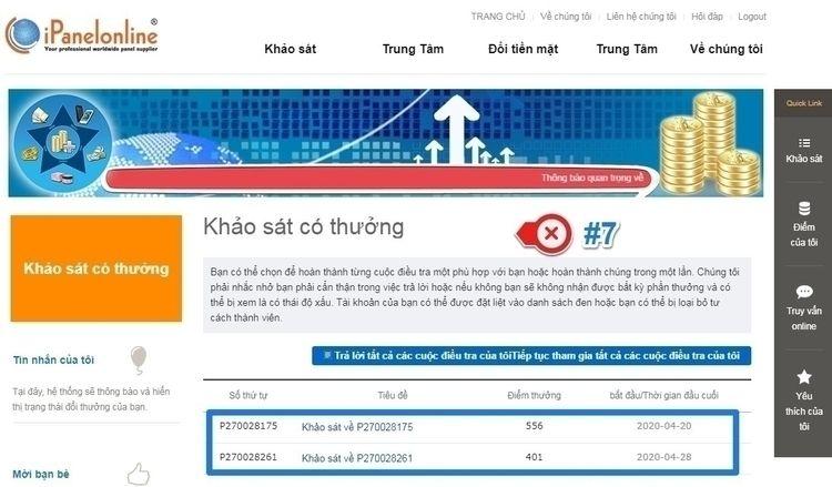 khảo sát kiếm tiền online extre - kiemthecao | ello