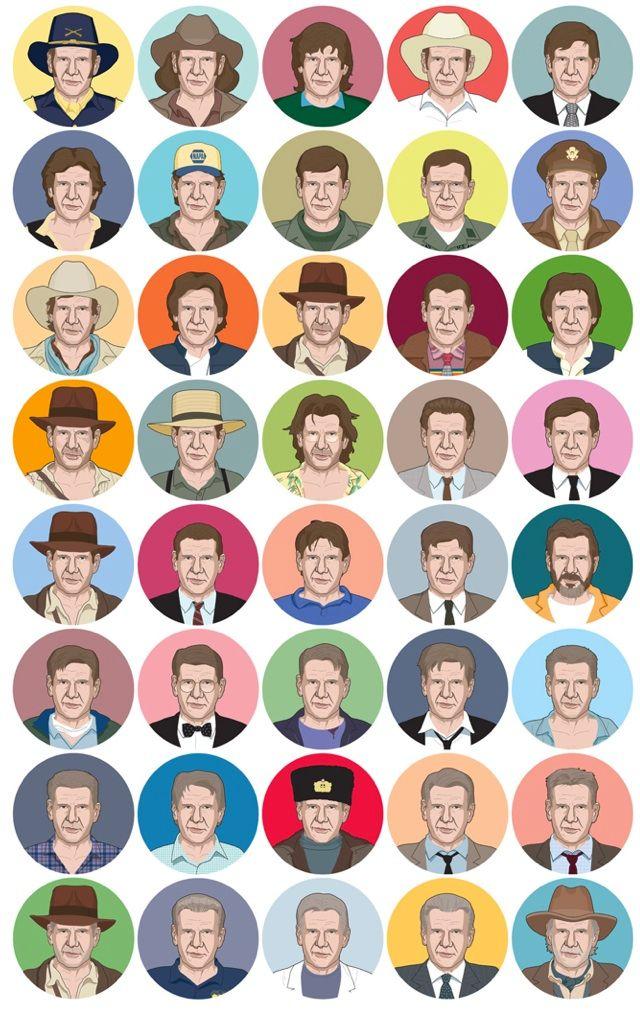 Character Played Harrison Ford - decorkiki | ello