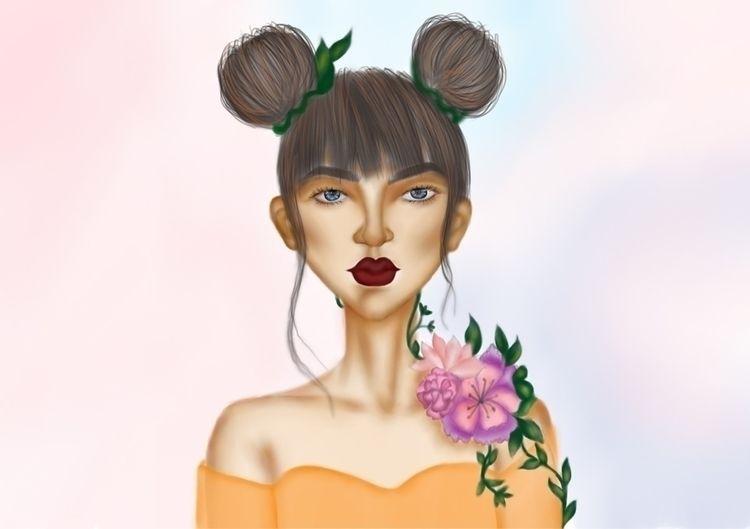 Floral chic:leaves::cherry_blos - sushmiithaa | ello