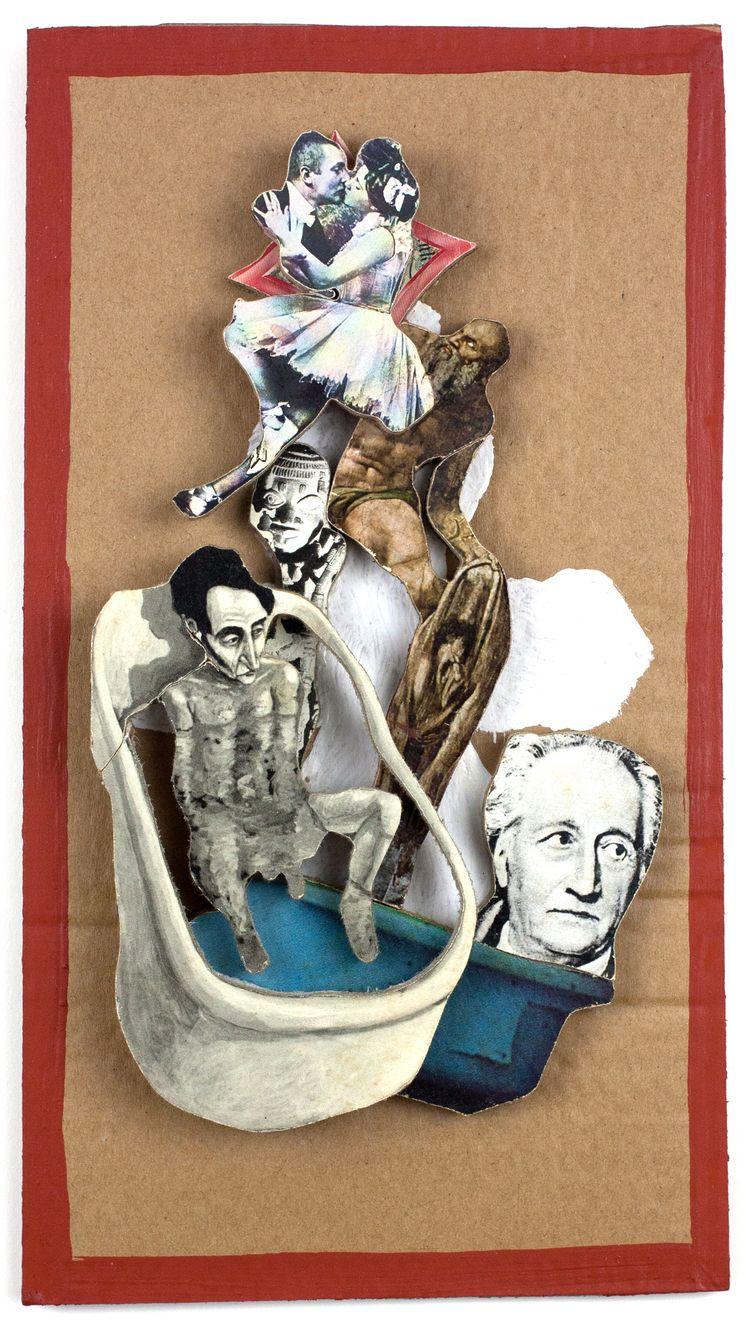 Dr. dream bathtub - cardboardart - boraistudio | ello