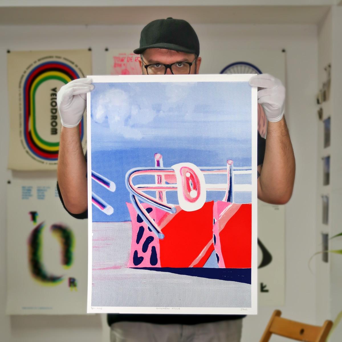 recommend serigraphic output Zb - graphicsflowershop | ello