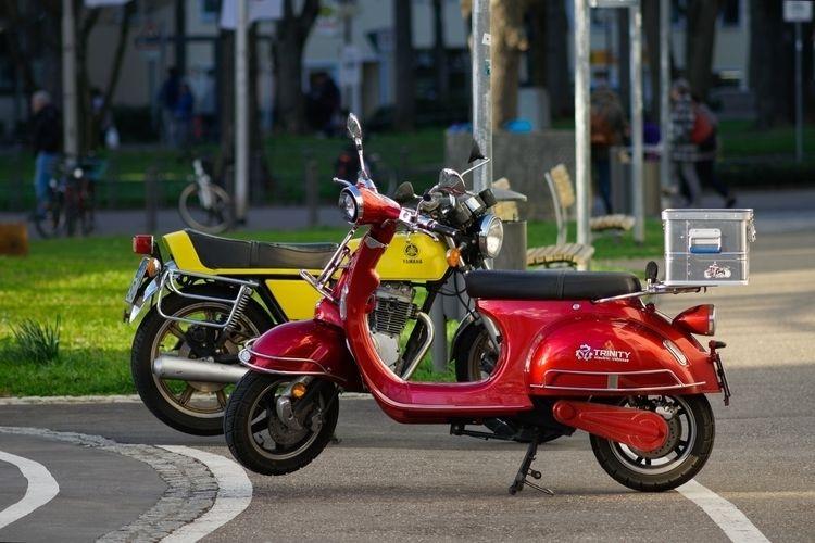 Uneasy riders - photography, scooter - marcushammerschmitt | ello
