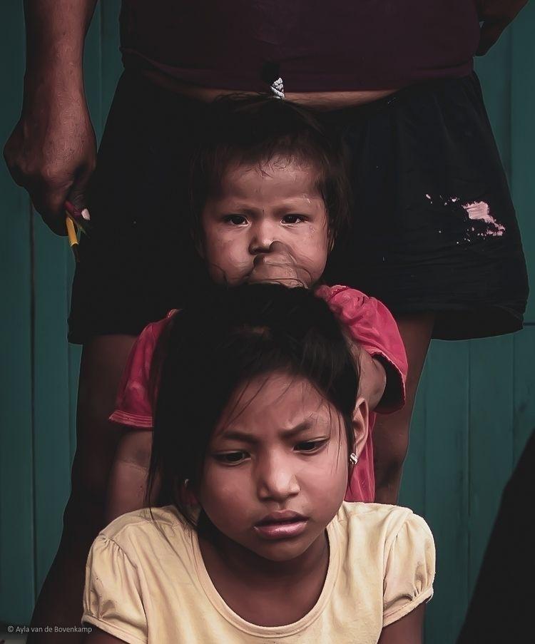 Members Shipibo community, Peru - aywai | ello
