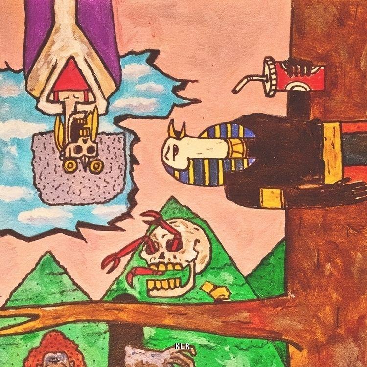 confinement composition iii  - illustration - kadi_sabi | ello